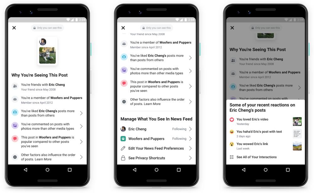 Comment Facebook sélectionne les posts de votre fil d'actualité