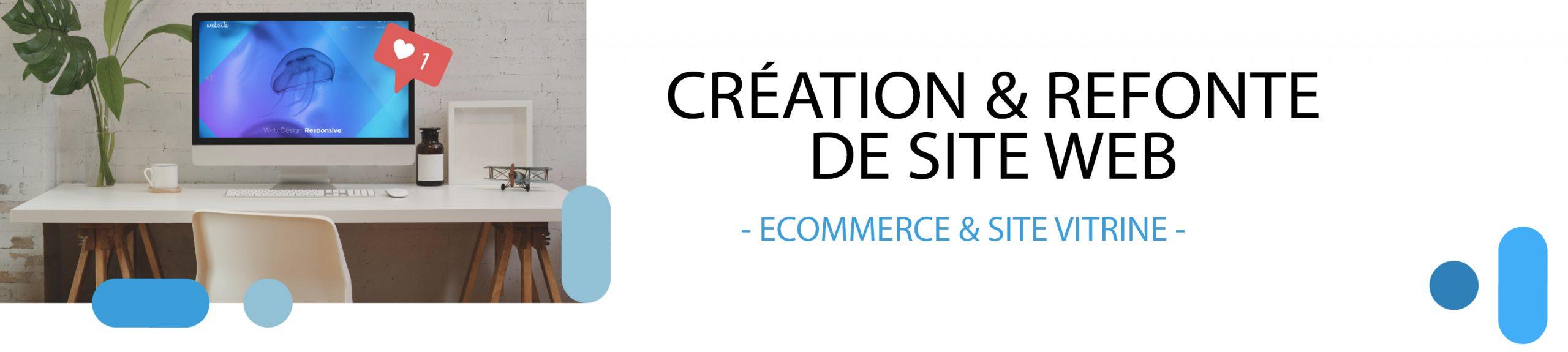 création et refonte de site web